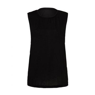 Women`s Flowy Scoop Muscle T-Shirt