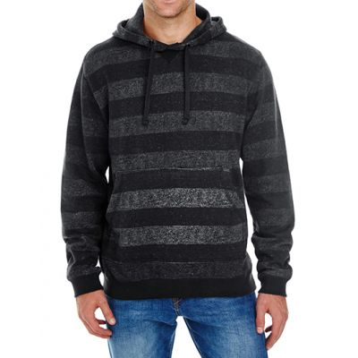 Printed Striped Marl Pullover