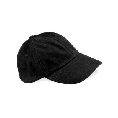 Low Profile Heavy Brushed Cotton Cap