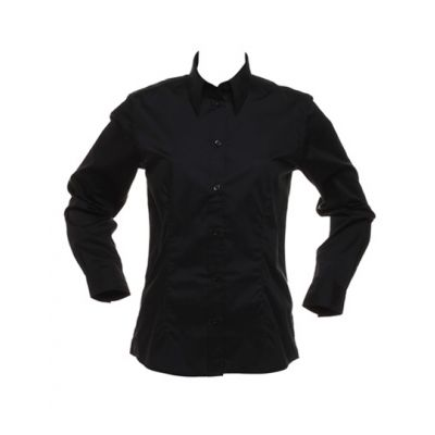 Women`s Tailored Fit Bar Shirt Long Sleeve