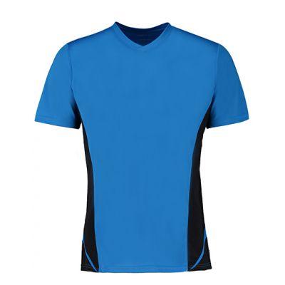 Men`s Regular Fit Team Top V Neck Short Sleeve