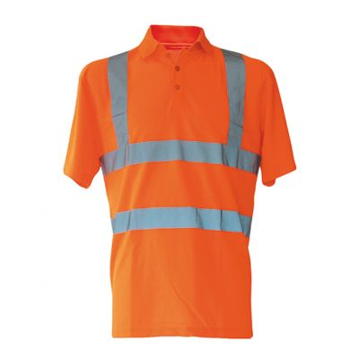 Hi-Viz Polo Shirt Basic EN ISO 20471