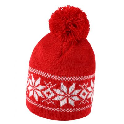Fair Isle Knitted Hat