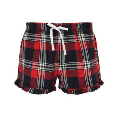 Women`s Tartan Frill Shorts