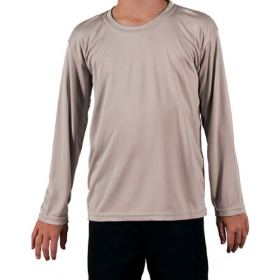 Youth Solar Performance Long Sleeve T-Shirt
