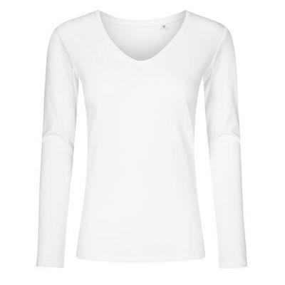 Women´s V-Neck T-Shirt Longsleeve