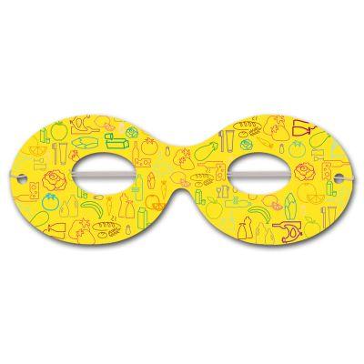 Augenmasken inkl. Druck 4/0 - Preis per 1.000 Stück W6042 bedrucken