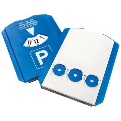 Parkscheibe 'TRIO', 3 Chips blau-weiß (AF0104400)