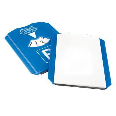 Euro-Parkscheibe 'CLASSIC', ohne Chips blau-weiß (AF0100500)