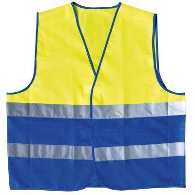 Warnweste 'TWO COLOUR' 2XL/3XL gelb-blau (AF0111606)