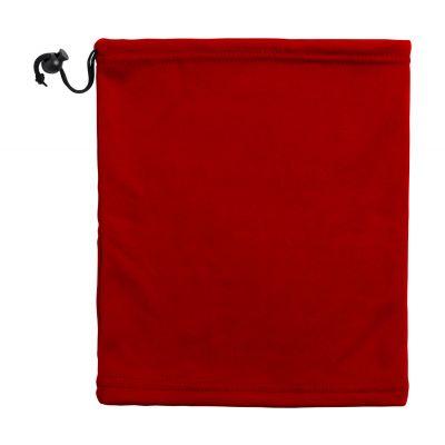 Wintermütze Ponkar rot bedrucken