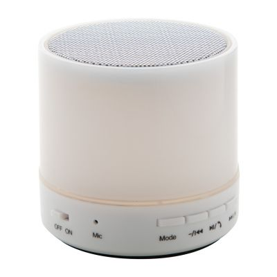 Bluetooth-Lautsprecher Stockel weiß bedrucken