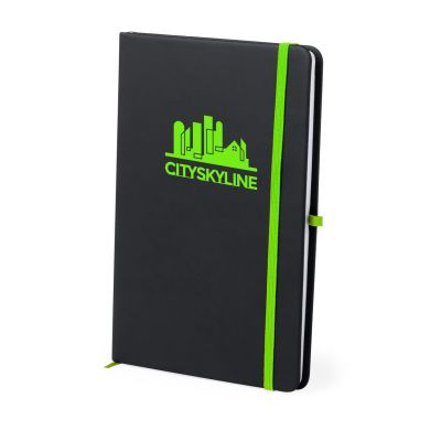 Notizbuch Kefron hellgrün bedrucken