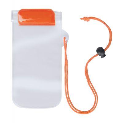 wasserbeständige Kapsel Waterpro orange bedrucken