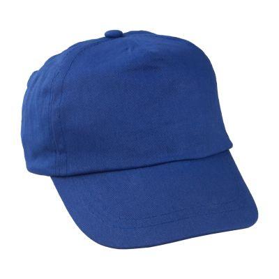 Kinder Kappe Sportkid dunkelblau bedrucken