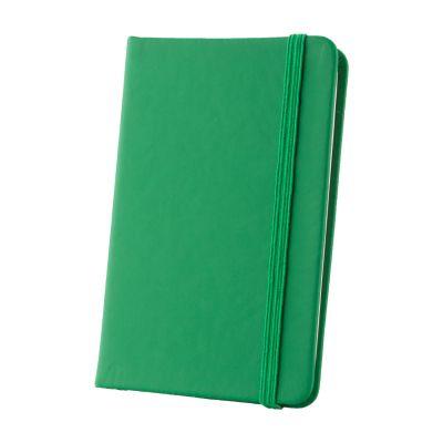 Notizbuch Kine dunkelgrün bedrucken