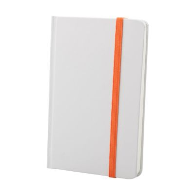Notizbuch Yakis orange bedrucken