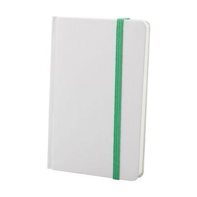 Notizbuch Yakis dunkelgrün bedrucken