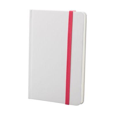 Notizbuch Yakis pink bedrucken