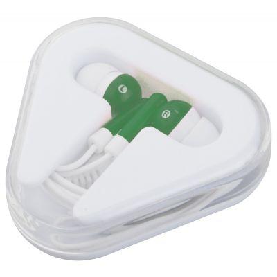 In-Ear-Kopfhörer Surix dunkelgrün bedrucken