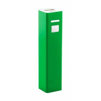Powerbank Thazer dunkelgrün bedrucken