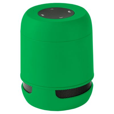 Bluetooth-Lautsprecher Braiss dunkelgrün bedrucken