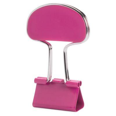 Notizclip Yonsy pink bedrucken