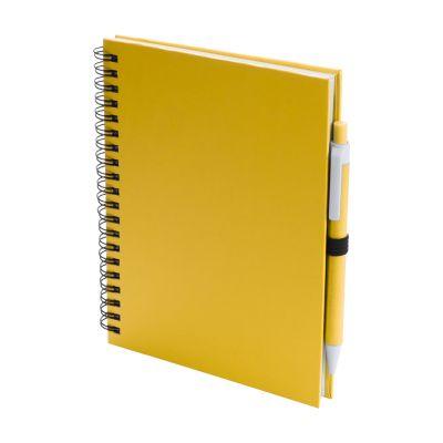 Notizbuch Koguel gelb bedrucken