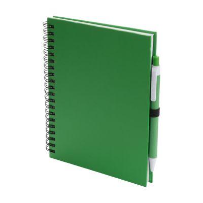 Notizbuch Koguel dunkelgrün bedrucken