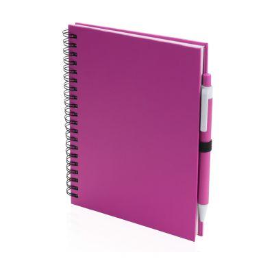 Notizbuch Koguel pink bedrucken