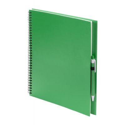 Notizbuch Tecnar dunkelgrün bedrucken