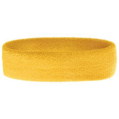 Stirnband Ranster gelb bedrucken