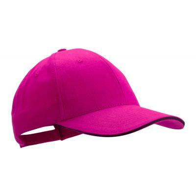 Baseball Kappe Rubec pink bedrucken