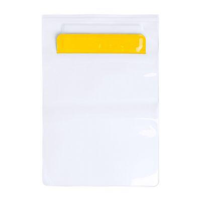 Tablet Etui Kirot gelb bedrucken