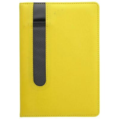 Notizbuch Merton gelb bedrucken