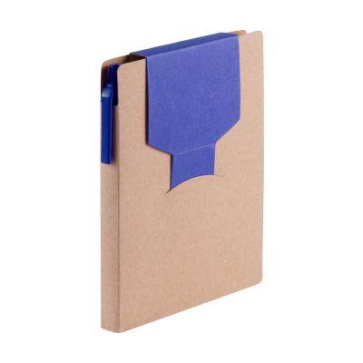 Notiz-Set Cravis dunkelblau bedrucken