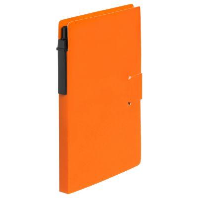 Notiz-Set Prent orange bedrucken