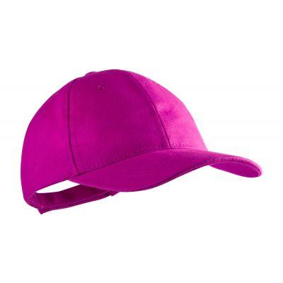 Baseball Kappe Rittel pink bedrucken