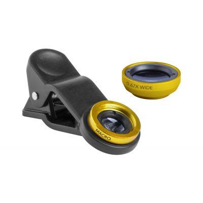 Objektiv-Set Drian gelb bedrucken