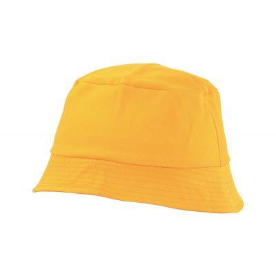 Angelhut Marvin gelb bedrucken