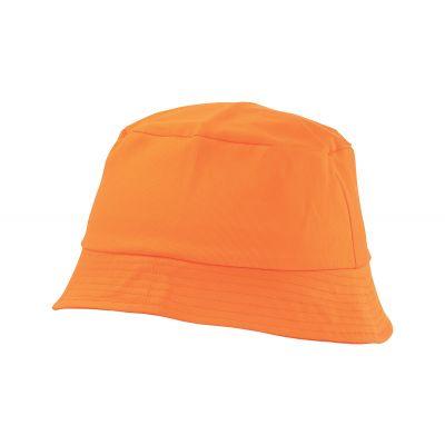 Angelhut Marvin orange bedrucken
