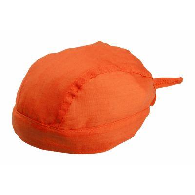 Kopftuch Garfy orange bedrucken