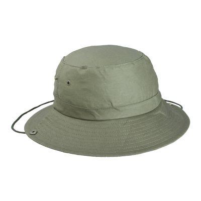 Hut Safari dunkelgrün bedrucken
