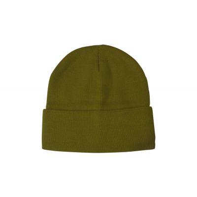 Wintermütze Lana dunkelgrün bedrucken