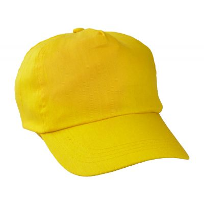 Baseball Kappe Sport gelb bedrucken