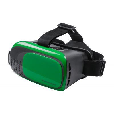 VR-Headset Bercley dunkelgrün bedrucken