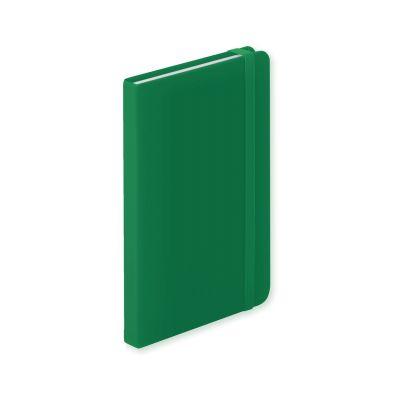 Notizbuch Kinelin dunkelgrün bedrucken