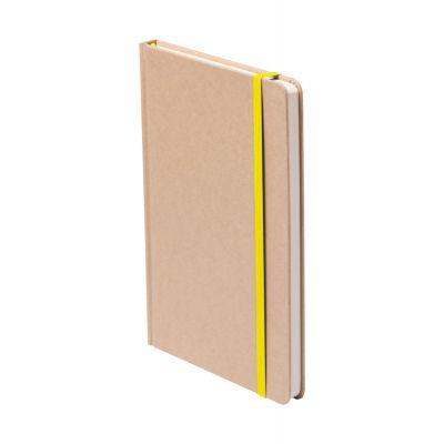 Notizbuch Raimok gelb bedrucken