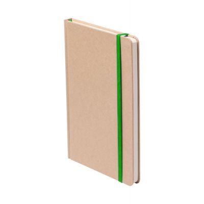 Notizbuch Raimok dunkelgrün bedrucken