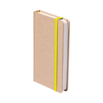 Notizbuch Bosco gelb bedrucken
